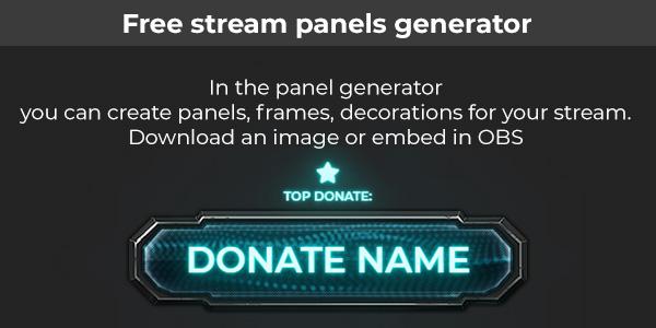 Panel generator